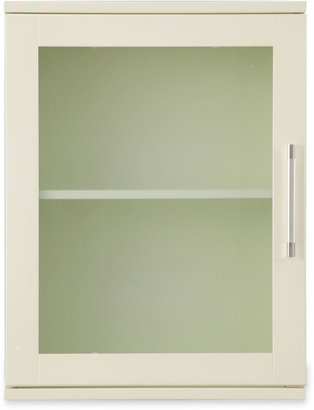 JCPenney JCP Frosted Pane Wall Mirror Cabinet