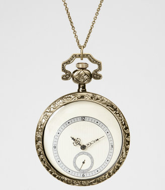 Fred Flare Alice Time Piece Watch Necklace