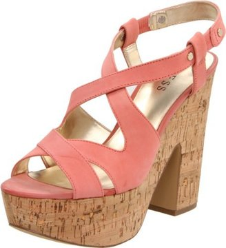 GUESS Women's Tacka Platform Sandal