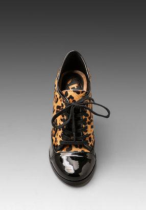 Kelsi Dagger Zanti Bootie in Leopard/Black