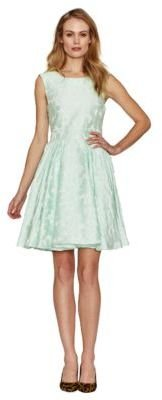 Pink Tartan Daisy Full Skirt Dress