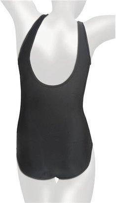 It Figures Square Neck Tank Swimsuit - D-Cup, 1-Piece (For Women)