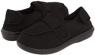 Propet Cronus Medicare/HCPCS Code = A5500 Diabetic Shoe (Black) Women's Slippers