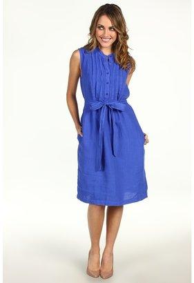 Red Dot Pleated Bib Dress w/Tie Women's Dress