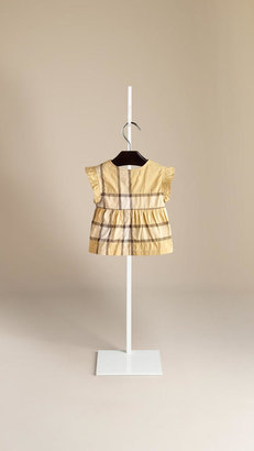 Burberry Crinkled Check Top