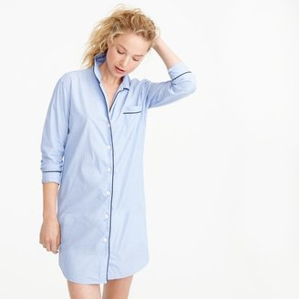J.Crew Nightshirt in end-on-end cotton
