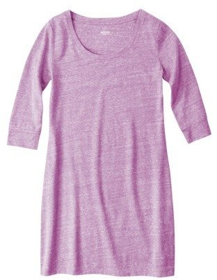 Mossimo Juniors Scoop Neck T-Shirt Dress - Assorted Colors