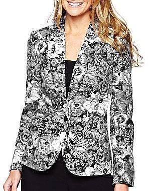 JCPenney Worthington® Floral Print Blazer