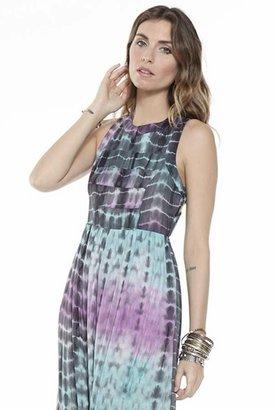 Lovers + Friends Kitty Cat Maxi Dress in Summer Tie Dye