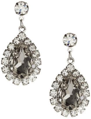 Cezanne Rhinestone Teardrop Earrings