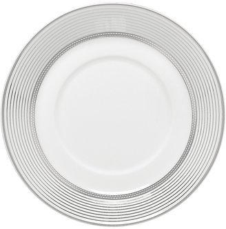 Monique Lhuillier Waterford Platine Striped Tea Saucer