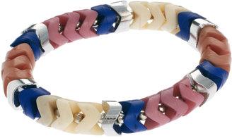 French Connection Resin Zig Zag Bracelet