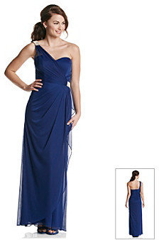 Xscape Evenings One Shoulder Long Gown