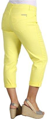 DKNY Plus Size Soho Cropped Skinny in Bananarama (Bananarama) - Apparel