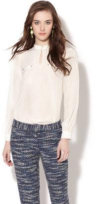 Stylein Silk Studded Blouse