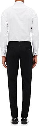 Barneys New York Men's Hairline Piqué Tuxedo Shirt
