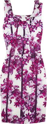 Erdem Zhanna floral-print silk dress