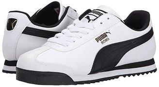 Puma Roma Basic (White/Black) Men's Shoes