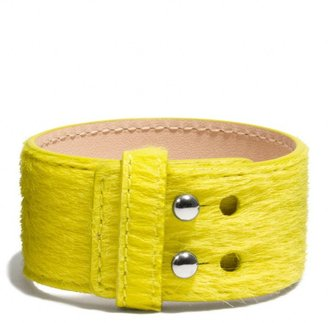 Coach Haircalf Collarpin Bracelet