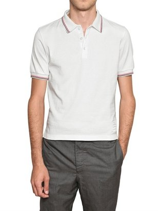Thom Browne Cotton Jersey Polo Shirt