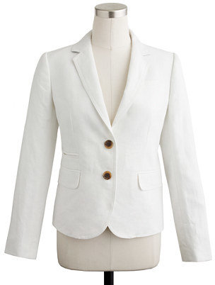 J.Crew Classic schoolboy blazer in linen