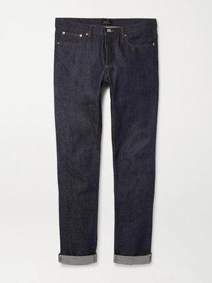 A.P.C. Petit New Standard Skinny-Fit Dry Selvedge Denim Jeans