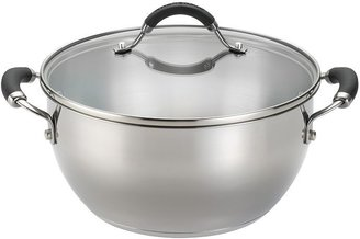 KitchenAid 5 1/2-qt. stainless steel covered casserole dish