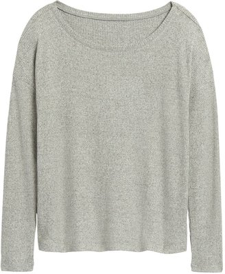 Banana Republic Relaxed Luxespun Boat-Neck T-Shirt