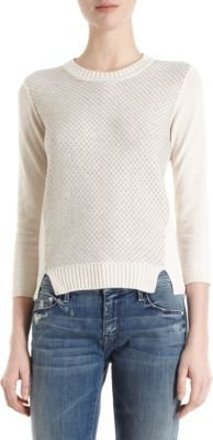 Lutz And Patmos Graphic Knit Crewneck Sweater