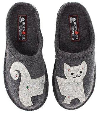 Haflinger Lizzy (Grey) Women's Slippers