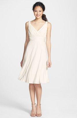 Ivy & Blu Pleated Jersey Dress