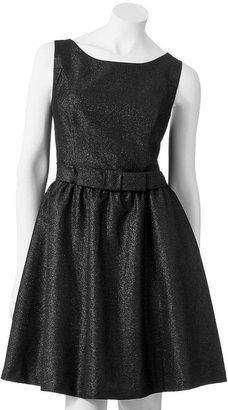 Lauren Conrad lurex fit & flare dress - women's