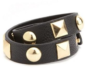 Charlotte Russe Wrapped Pyramid Stud Bracelet