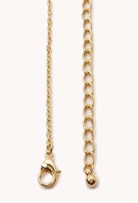 Forever 21 get lucky necklace