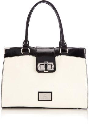 Wallis Black & White Juno Shoulder Bag