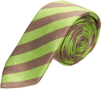 Barneys New York Textured Stripe Tie