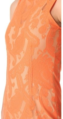 Yigal Azrouel Paisley Lace Dress