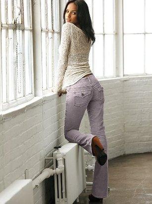 Victoria's Secret Low Five Flap-pocket Corduroy Pant