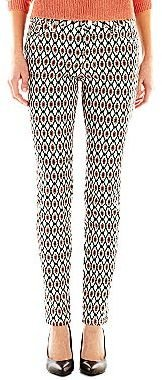 JCPenney Bisou Bisou® Geo-Print Jeans