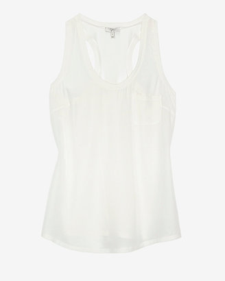 Joie Silk Pocket Tank