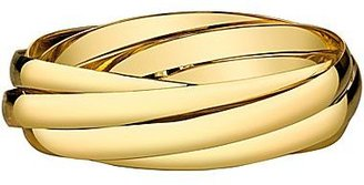 JCPenney DOWNTOWN BY LANA Gold-Tone Infinity Bangle