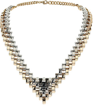 Topshop V Tip Necklace