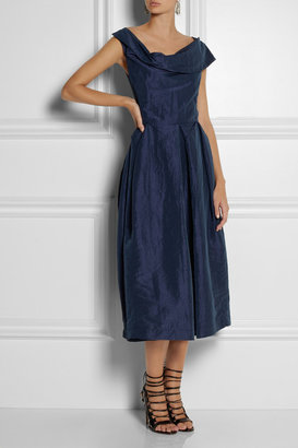 Vivienne Westwood Tuesday crinkled-taffeta dress