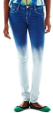 JCPenney Decree® Dip-Dyed Jeggings