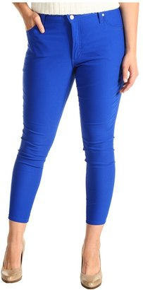 Karen Kane Plus - Plus Size Twill Skinny Jean (Royal) - Apparel