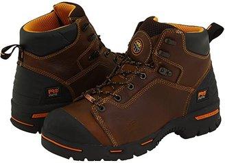 Timberland Endurance PR 6 Waterproof Steel Toe (Brown) Men's Work Lace-up Boots