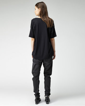 Alexander Wang gassed cotton pullover