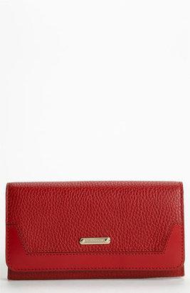Burberry 'London Grainy' Flap Wallet