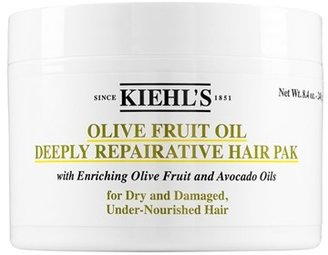 Kiehl's Since 1851 Olive Fruit Oil Repairing Hair Masque $25 thestylecure.com