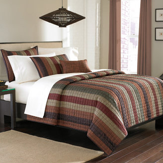 Bed Bath & Beyond Rubicon King Quilt Set - Spice
